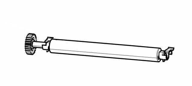 Kit - Platen Roller 300 dpi - ZD420T/ ZD620T