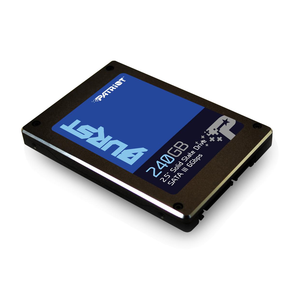 SSD 240GB PATRIOT Burst 555/ 500MBs