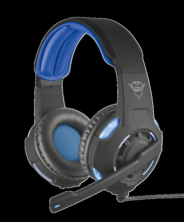 náhlavní sada TRUST GXT 350 7.1 Bass headset