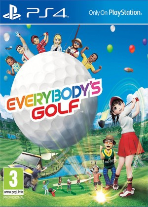 PS4 VR - Everybody´s Golf 7