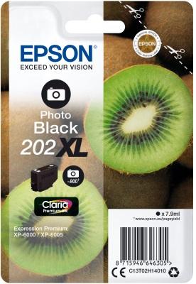 EPSON singlepack, Black 202XL, Premium Ink, St, XL
