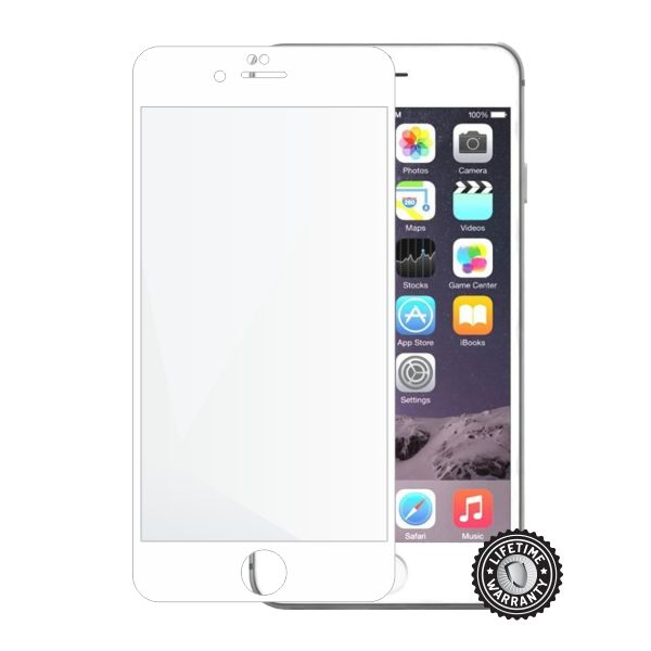 Screenshield APPLE iPhone 6 Plus / 6S PlusTempered Glass protection (full COVER white)