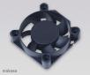 ventilátor Akasa - 40x10 mm  - černý