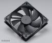 ventilátor Akasa - 12 cm  - černý - tichý S