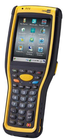 Obrázok produktu CipherLab CP-9730; WiFi; Win CE; laser; 30 kláves; USB