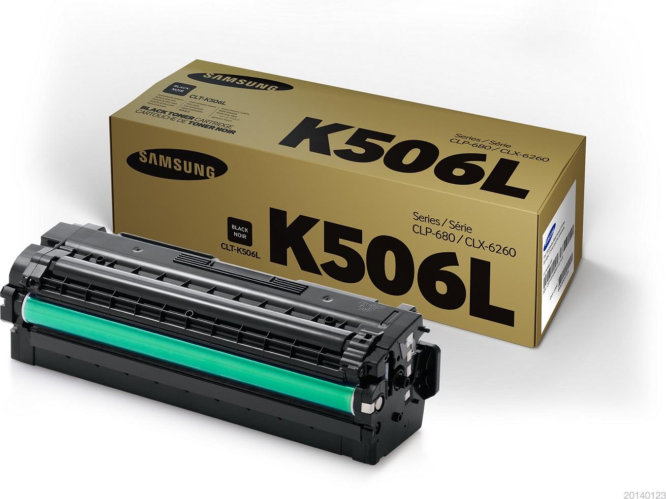 HP/ Samsung CLT-K506L/ ELS 6000 stran Toner Black
