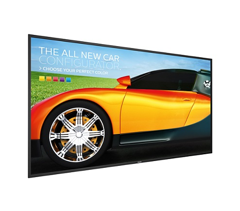 "75"" E-LED Philips 75BDL3050Q-UHD, IPS, 410cd, AN, 18/ 7"