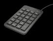 TRUST  XALAS Numerický blok, USB, černý
