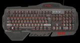 kláv. TRUST GXT 850 Metal Gaming Keyboard