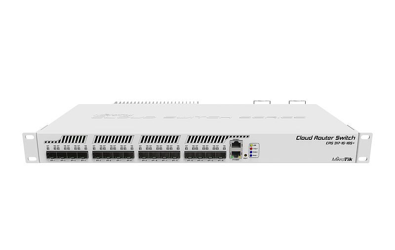 MikroTik CRS317-1G-16S+RM, Cloud Router Switch