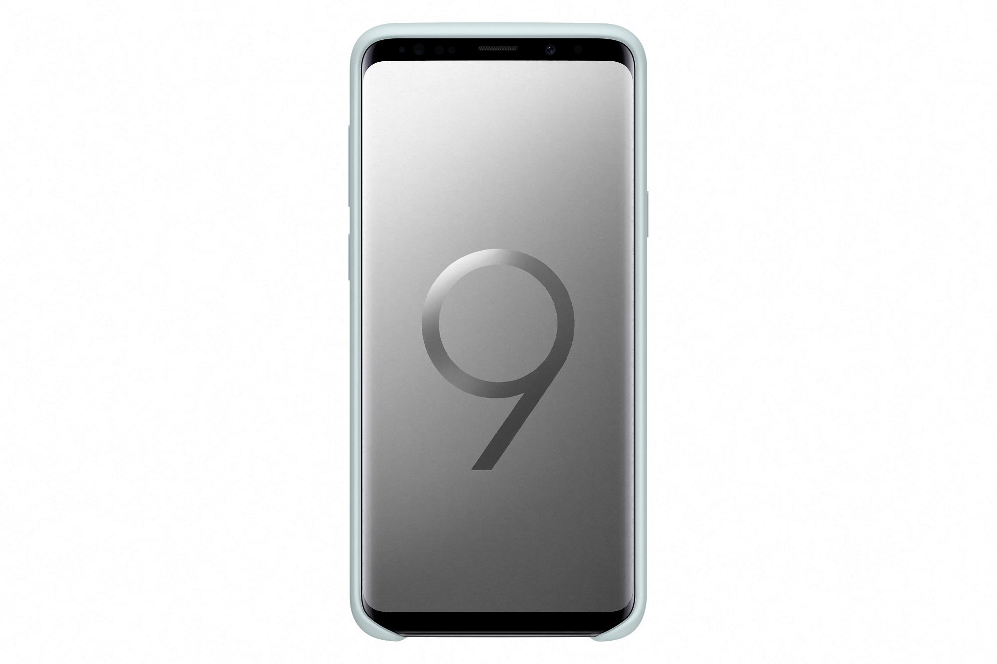 Samsung Silikonový zadní kryt pro S9+ Blue