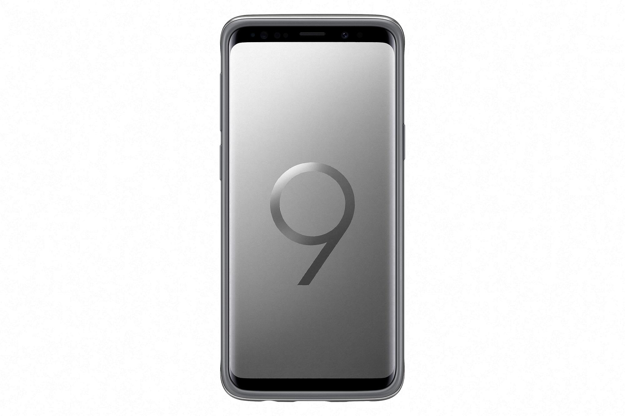 Samsung Tvrzený ochranný zadní kryt pro S9 Silver