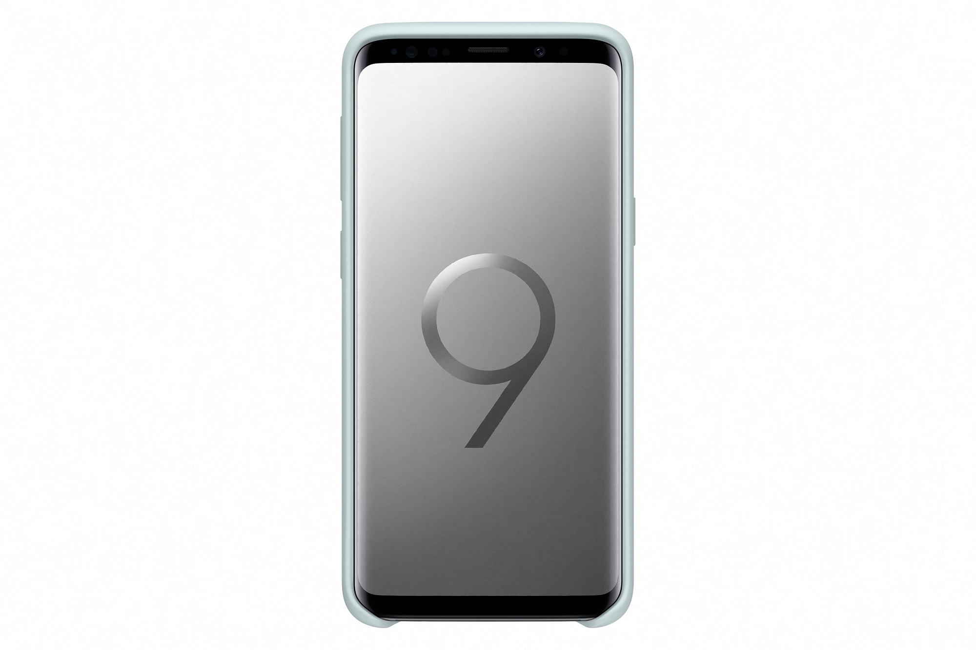 Samsung Silikonový zadní kryt pro S9 Blue