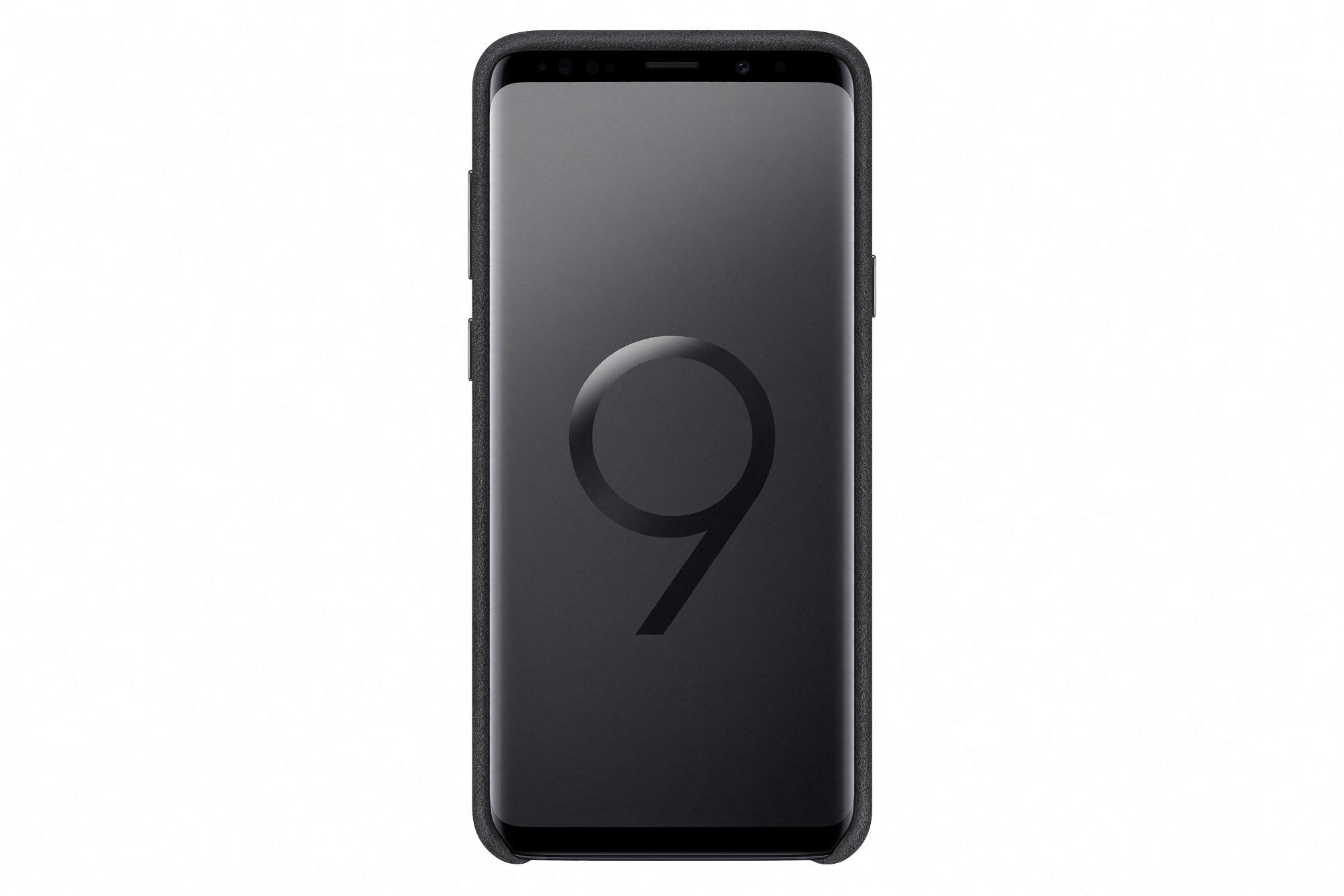 Samsung Zadní kryt - kůže Alcantara pro S9+ Black
