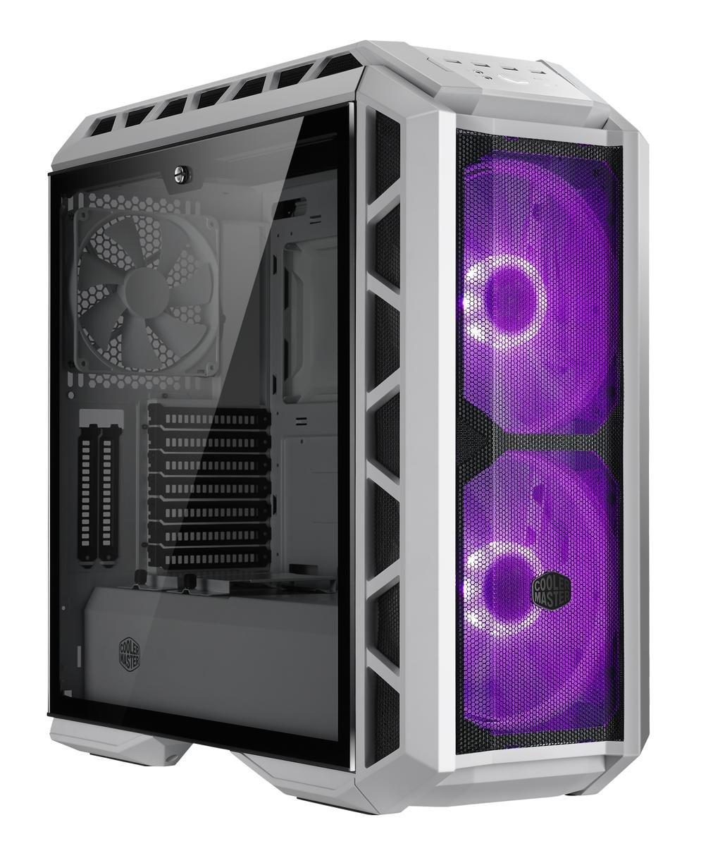 case Cooler Master MasterCase H500P Mesh White, ATX, bílá, USB3.0, bez zdroje