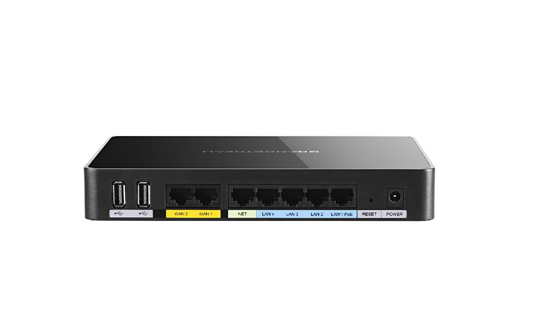 Grandstream GWN7000, enterp. router, 7xGbit portů(2xWAN, 5xLAN), VPN, 300+ DWN WiFi Aps, NAT, NAS, U