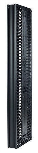 "Valueline, Vertical Cable Manager for 2 & 4 Post Racks, 84""H X 6""W, Double-Sided with"