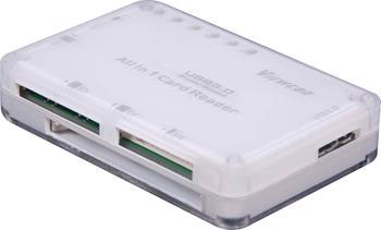 PremiumCord USB 3.0 čtečka všech paměťových karet