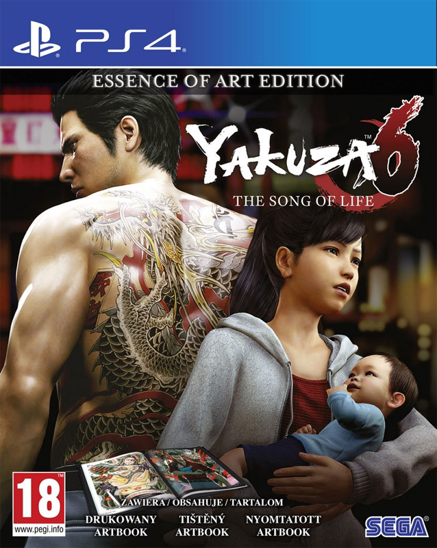 PS4 - YAKUZA 6: THE SONG OF LIFE -ESSENCE OF ART EDITION