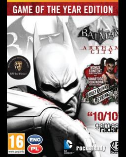 ESD Batman Arkham City Game of the Year Edition