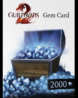 ESD Guild Wars 2 2000 Gem Card