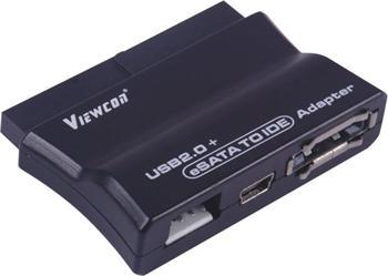 PremiumCord USB 2.0 + eSATA na IDE adaptér s kabelem, napájecí adaptér