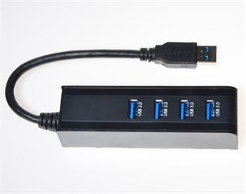 PremiumCord USB 3.0 Superspeed HUB 4-portový