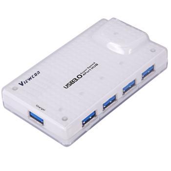 PremiumCord USB 3.0 HUB 4-portový s  napájením
