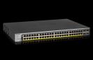 NETGEAR 48-Port Gigabit PoE+ (760W) SmartManaged Pro Switch with 4 SFP Ports