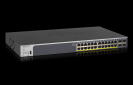 NETGEAR 24-Port Gigabit PoE+ (190W) SmartManaged Pro Switch with 4 SFP Ports