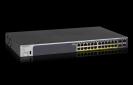 NETGEAR 24-Port Gigabit PoE+ (380W) SmartManaged Pro Switch with 4 SFP Ports