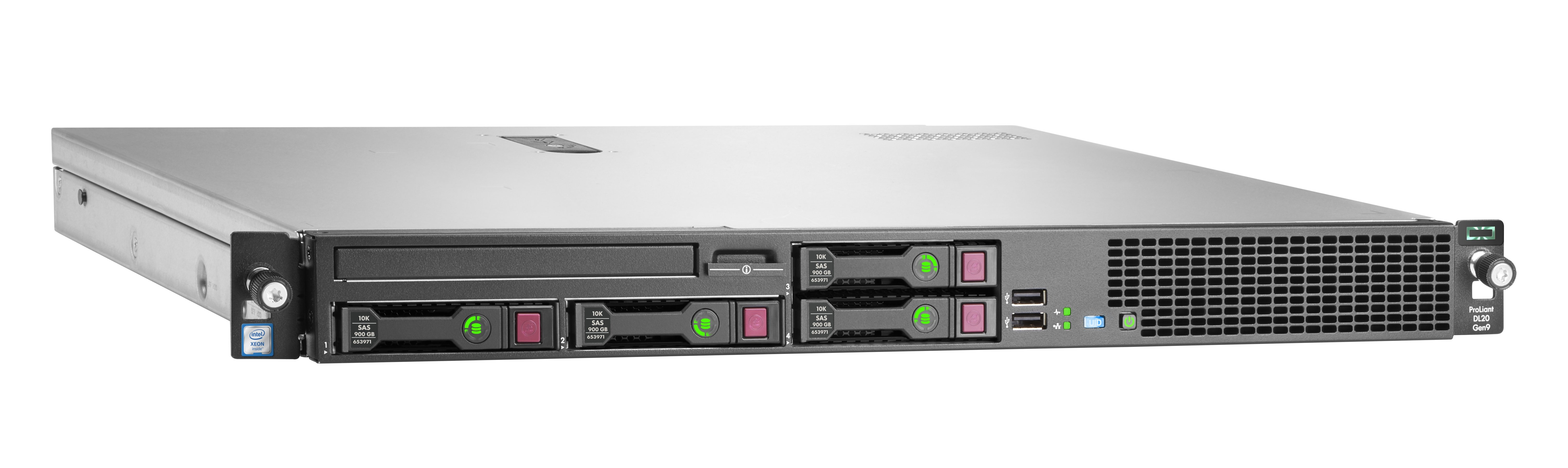 HPE DL20 Gen9 E3-1230v6 4SFF Soln Svr