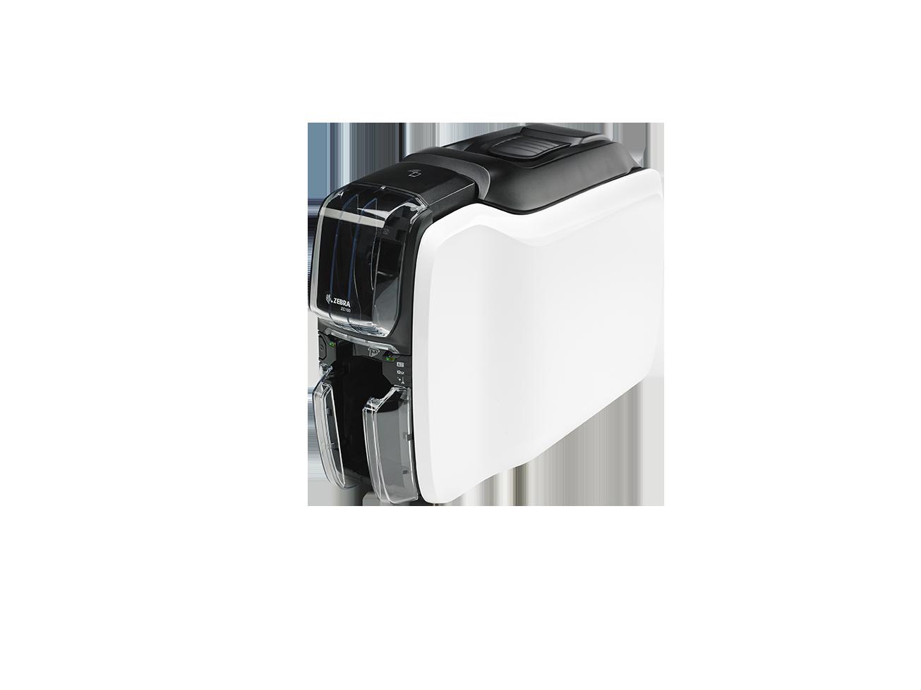 Obrázok produktu Zebra - tiskárna karet - Printer ZC100, Single Sided, USB & LAN