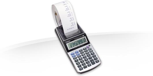 Canon kalkulačka P1-DTSC II W_ADPT EMEA HWB