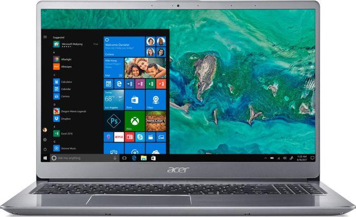 "Acer Swift 3 - 15, 6""/ i5-8250U/ 8G/ 1TB+16OPT/ MX150/ W10 stříbrný"