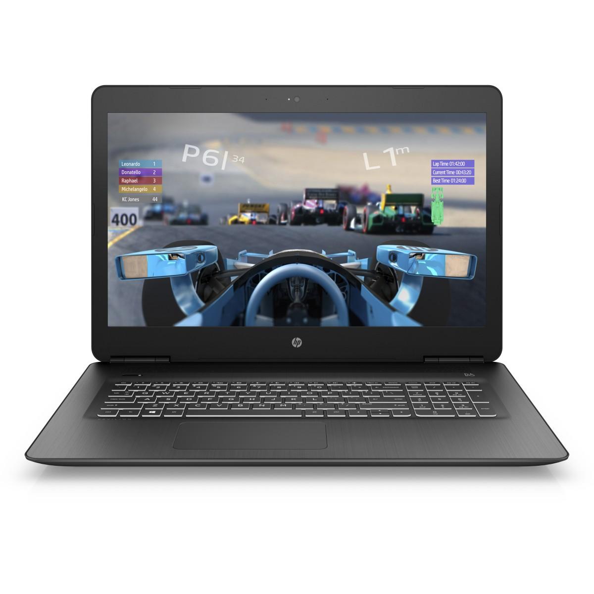 HP Power Pavilion 17-ab408nc FHD i7-8750H/ 16GB/ 1TB+256SSD/ NV/ DVD/ 2RServis/ W10-black