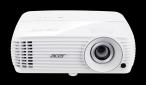 Acer DLP V6810 - 2200Lm, 4K UHD, 10000:1, HDMI, VGA, RS232, USB, repro., bílý