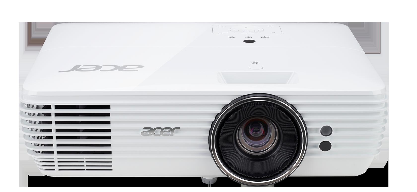 Obrázok produktu Acer DLP V6815 - 2400Lm, 4K UHD, 10000:1, HDMI, VGA, RS232, USB, repro., HDR, bílý