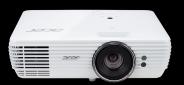 Acer DLP V6815 - 2400Lm, 4K UHD, 10000:1, HDMI, VGA, RS232, USB, repro., HDR, bílý