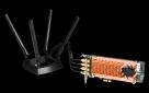 QNAP QWA-AC2600 - PCIe bezdrátový síťový adaptér (802.11n a 802.11ac) pro NAS nebo PC