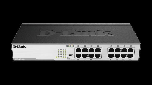 D-Link DGS-1016D 16x10/ 100/ 1000 Desktop Switch - PROMO
