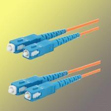 Optický patchkabel duplex SC-SC, 50/ 125 um MM, 30 m, OM2