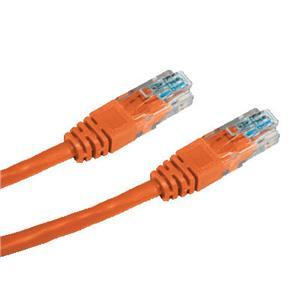 DATACOM patch cord UTP cat5e 0, 5M oranžový