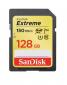 SanDisk Extreme SDXC 128GB 150MB/ s V30 UHS-I U3