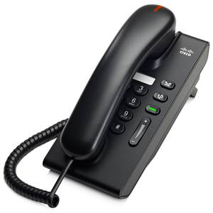 Cisco Unified IP Phone 6901, Charcoal, Slimline Handset