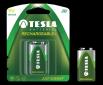 TESLA - baterie 9V RECHARGEABLE+ , 1ks, 6HR61