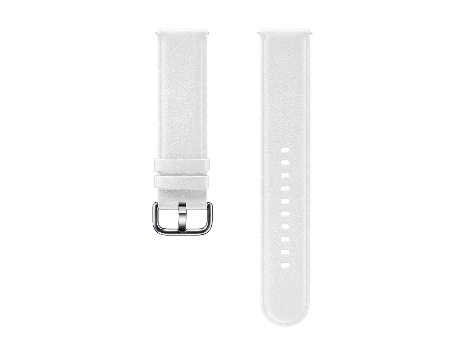 Samsung Kožený řemínek 20mm, White