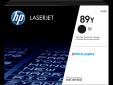 HP 89Y Black LaserJet Toner, CF289Y