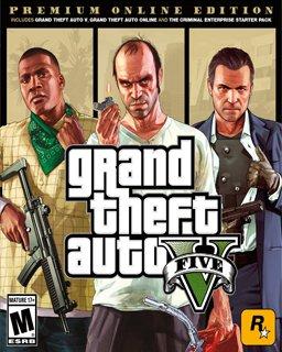 ESD Grand Theft Auto V Premium Online Edition, GTA