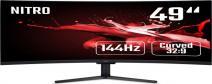 "49"" Acer Nitro EI491CRP - VA, 4K@144Hz, 4ms, 400cd/ m2, 32:9, HDMI, DP, FreeSync, Repro"
